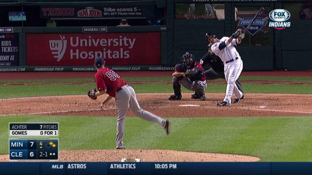 Gomes' three-run homer