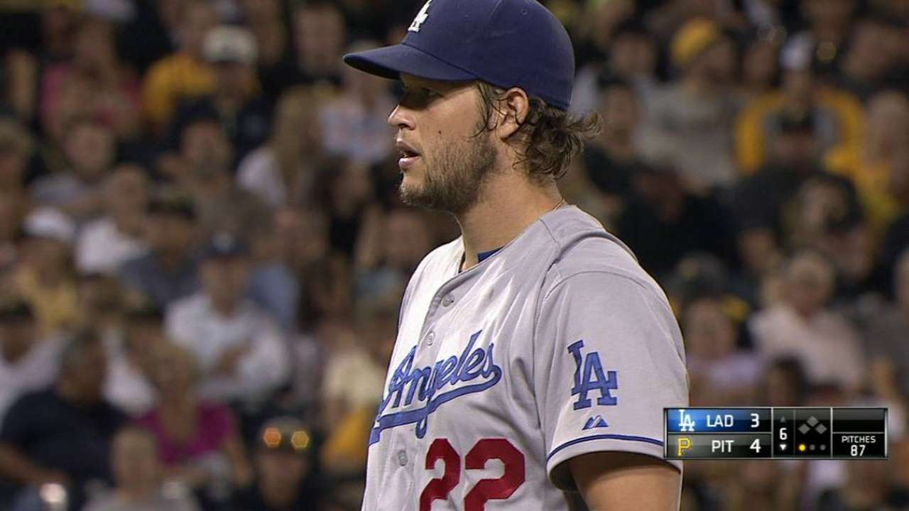 Kershaw strikes out Rodriguez
