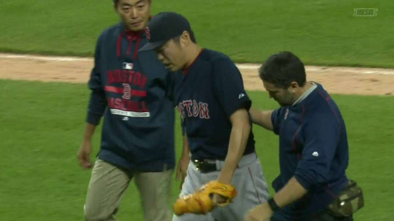 Uehara to undergo more tests; Betts cleared