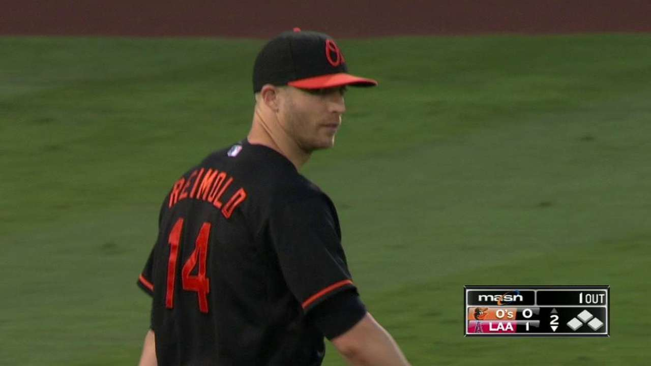 Reimold outrighted to Triple-A Norfolk