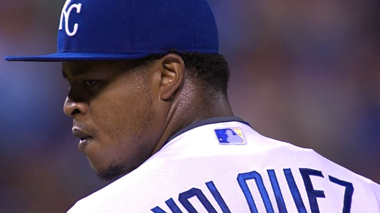 Volquez takes joy in vanquishing friend