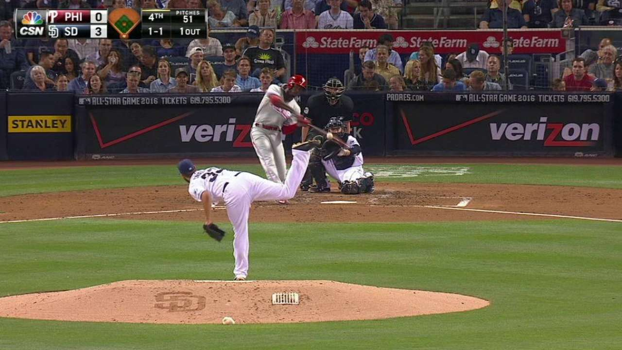 Brown's solo homer
