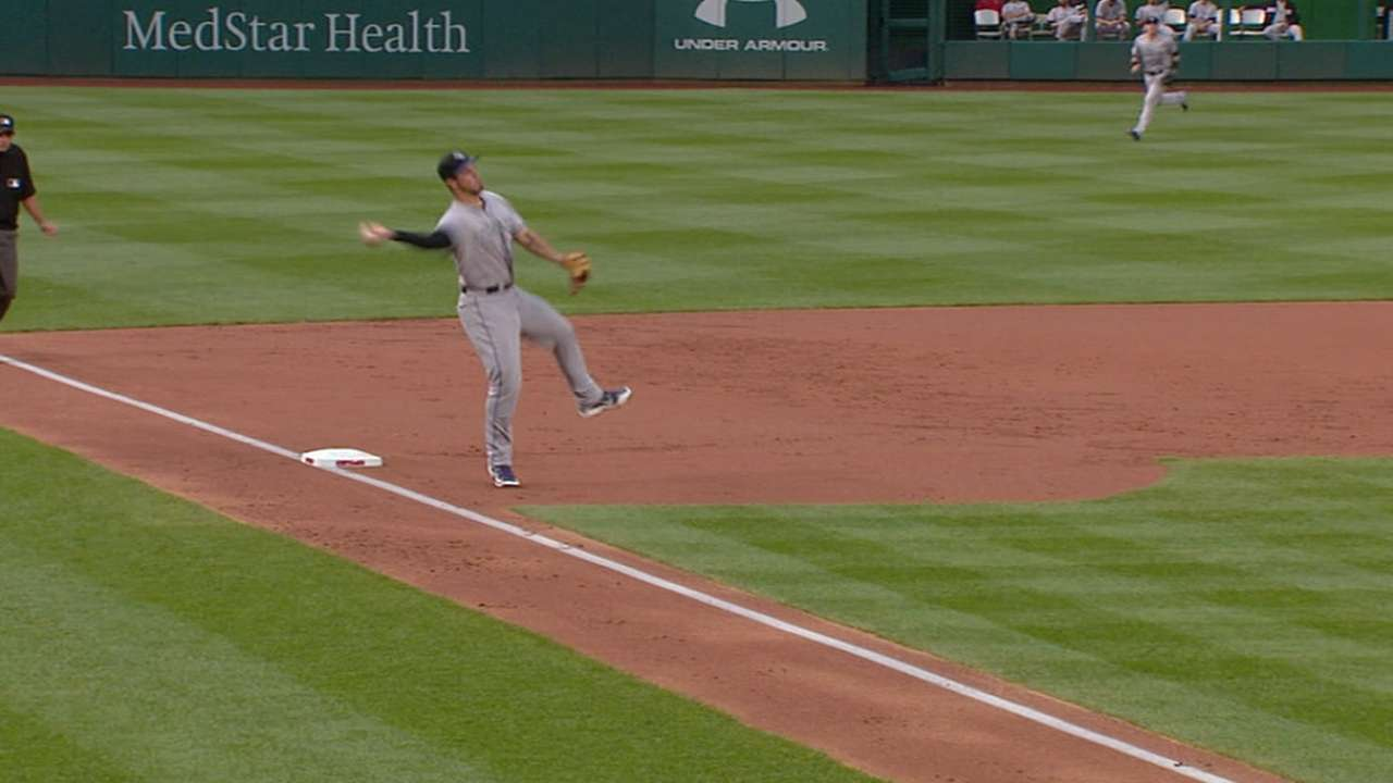 Arenado's two barehanded plays
