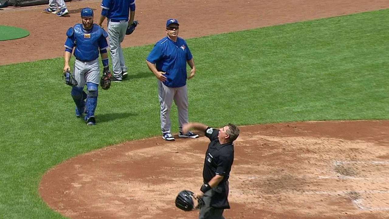 Gibbons gets tossed