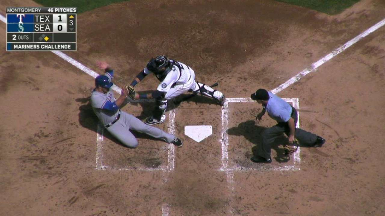 Sucre tags out Gimenez at home