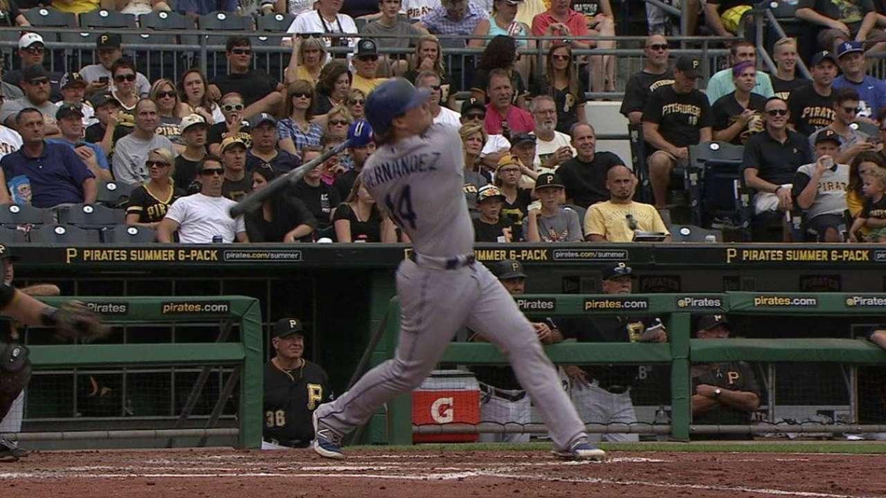 Dodgers no pudieron contener el ataque de los Piratas en Pittsburgh