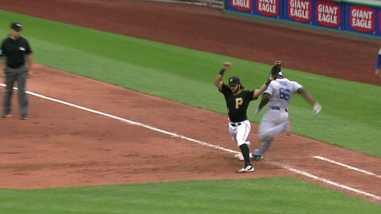Four replays go against Dodgers in wild game