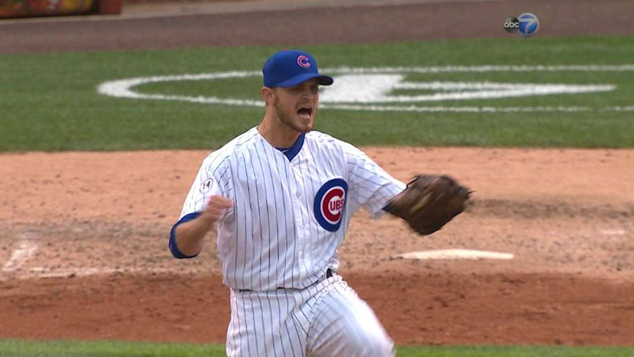 Confidence key for Cubs' 'pen down the stretch