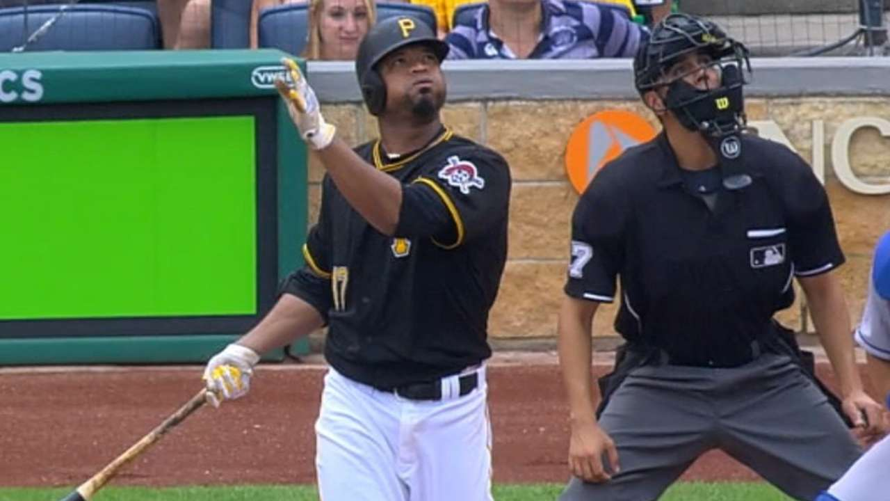 Must C: Liriano hits first homer