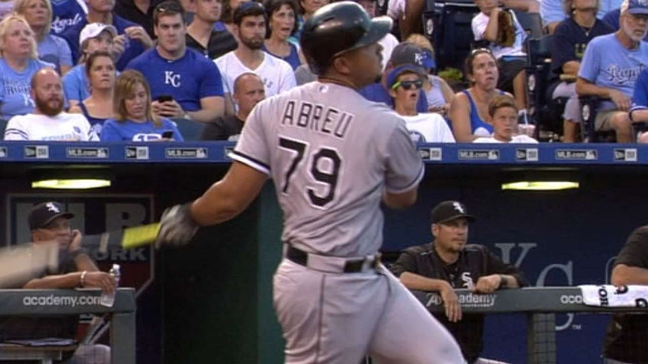 Abreu's two-homer game