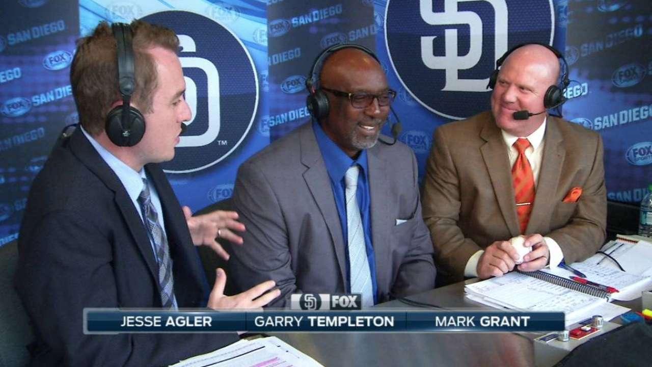 Templeton on Padres HOF