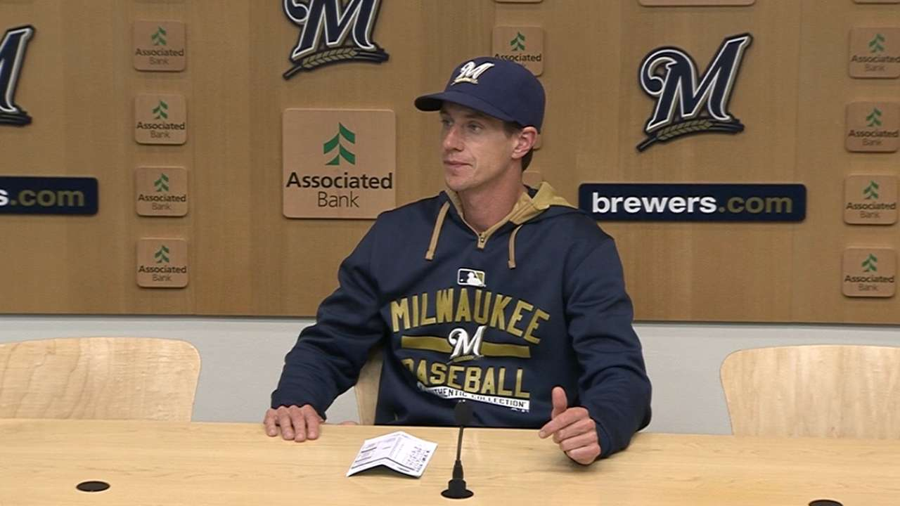 Brewers' offense lacks punch following trades