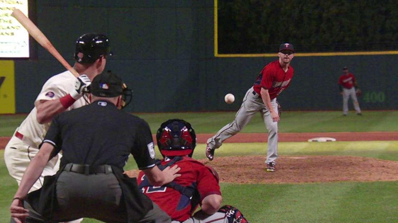 Robinson takes the mound