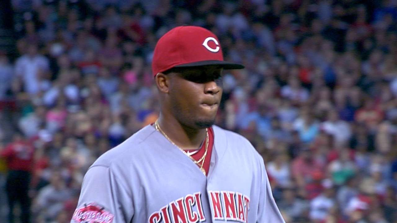Sampson making most of opportunity with Reds