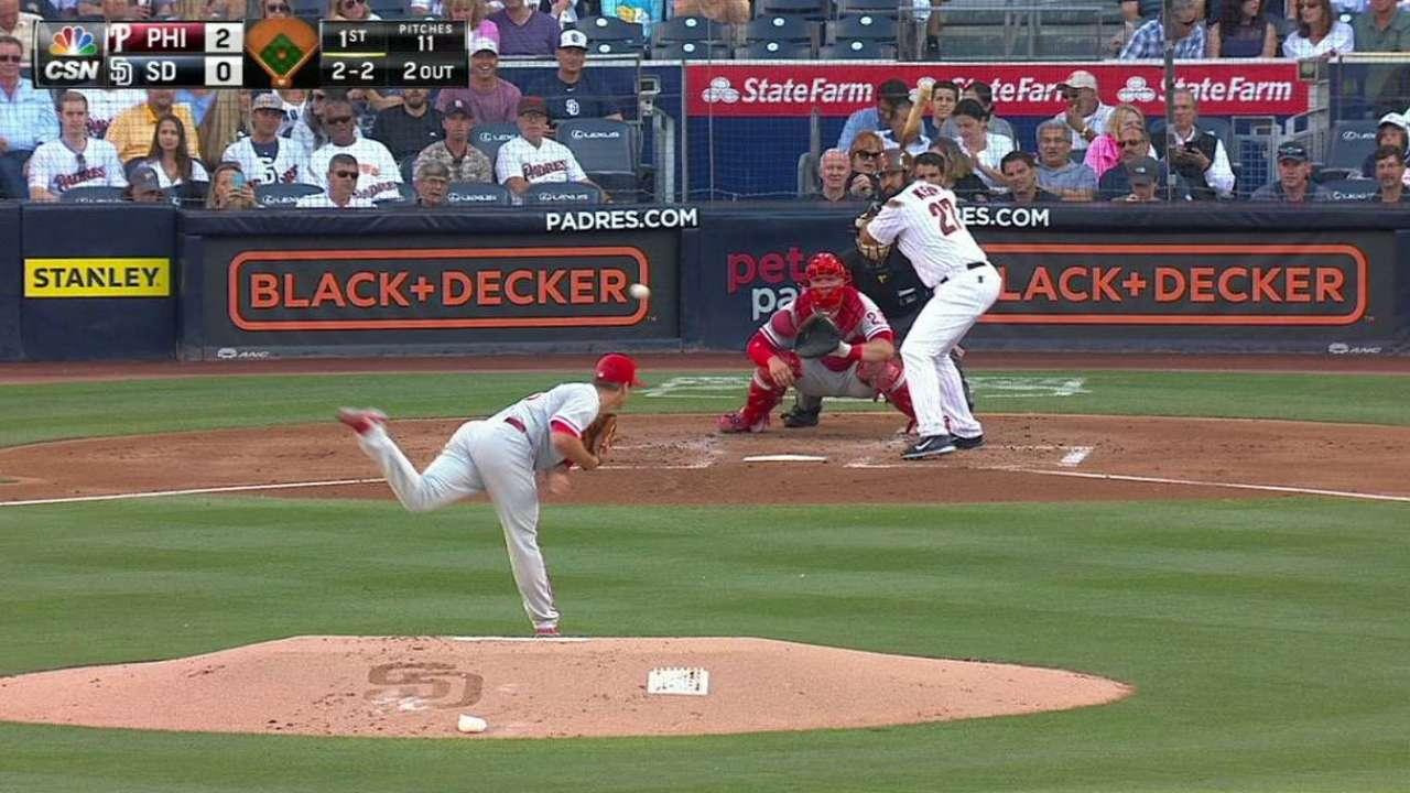 Morgan strikes out Kemp