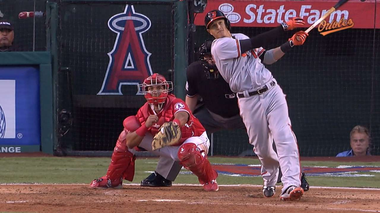 Machado's four-hit game