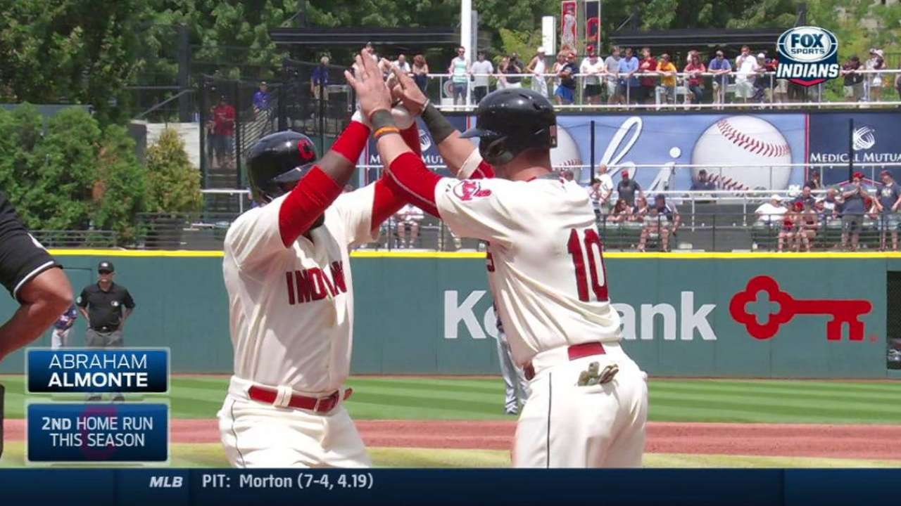 Almonte's two-run homer