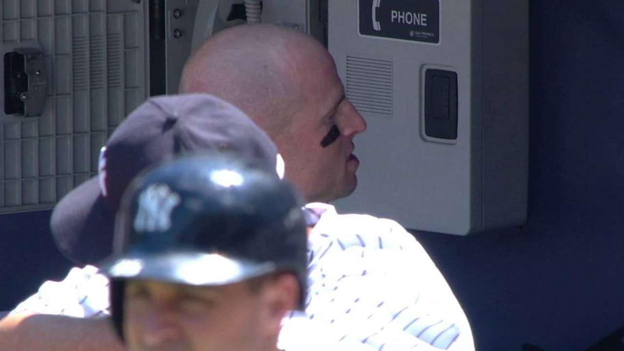 Fan throws home run ball back