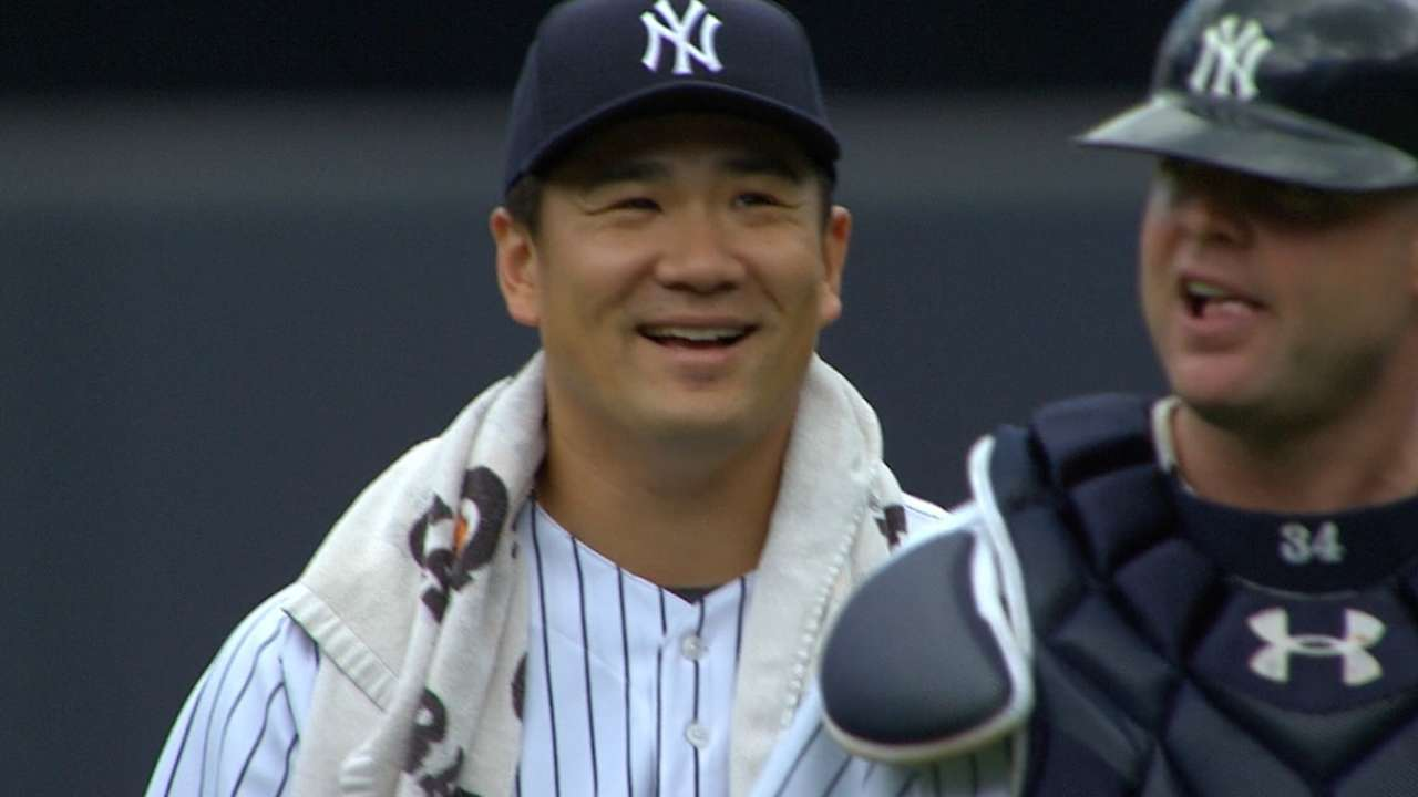 Despite losing, Tanaka delivers a solid performance