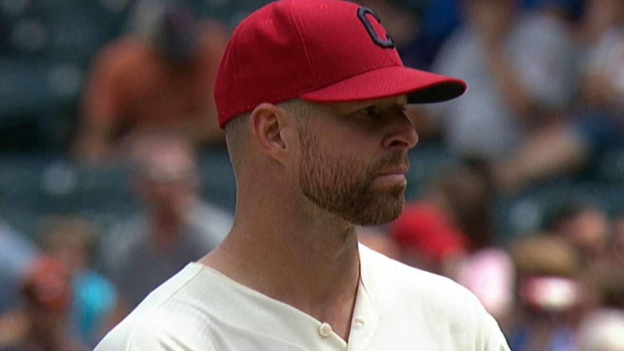 Kluber's complete game