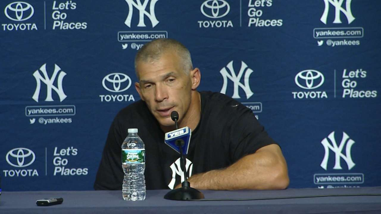 Yanks' bats looking to rebound after rough weekend