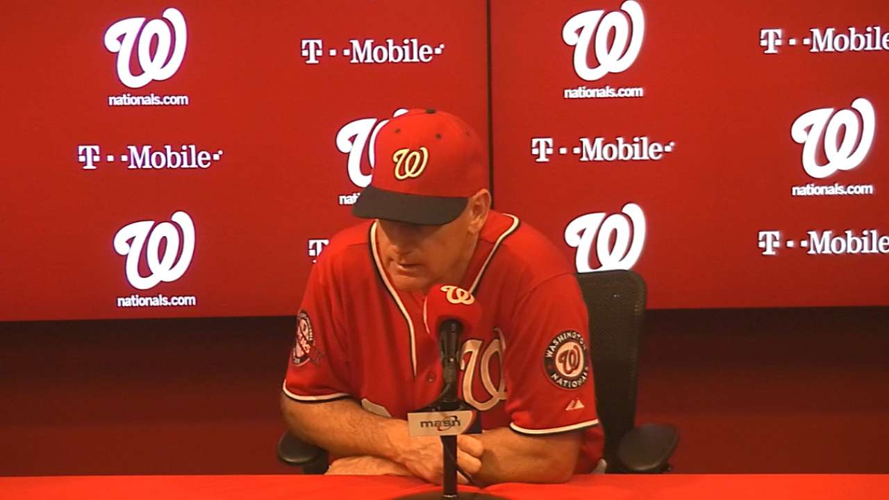 Two replays prove challenging for Nats
