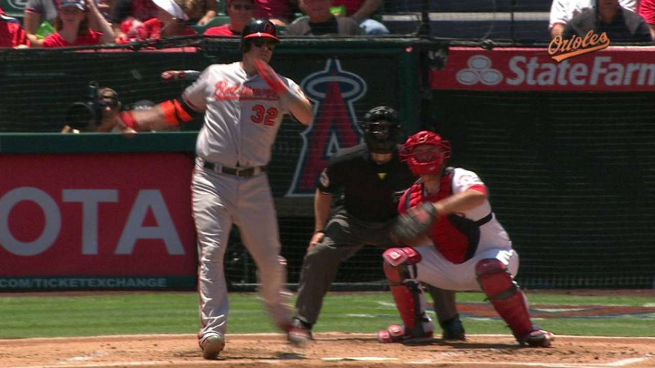 Wieters returns after right hamstring injury