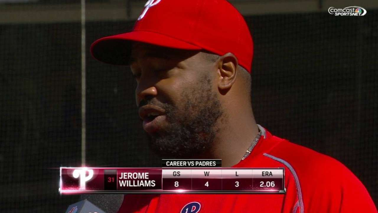 Williams turns in longest outing of season