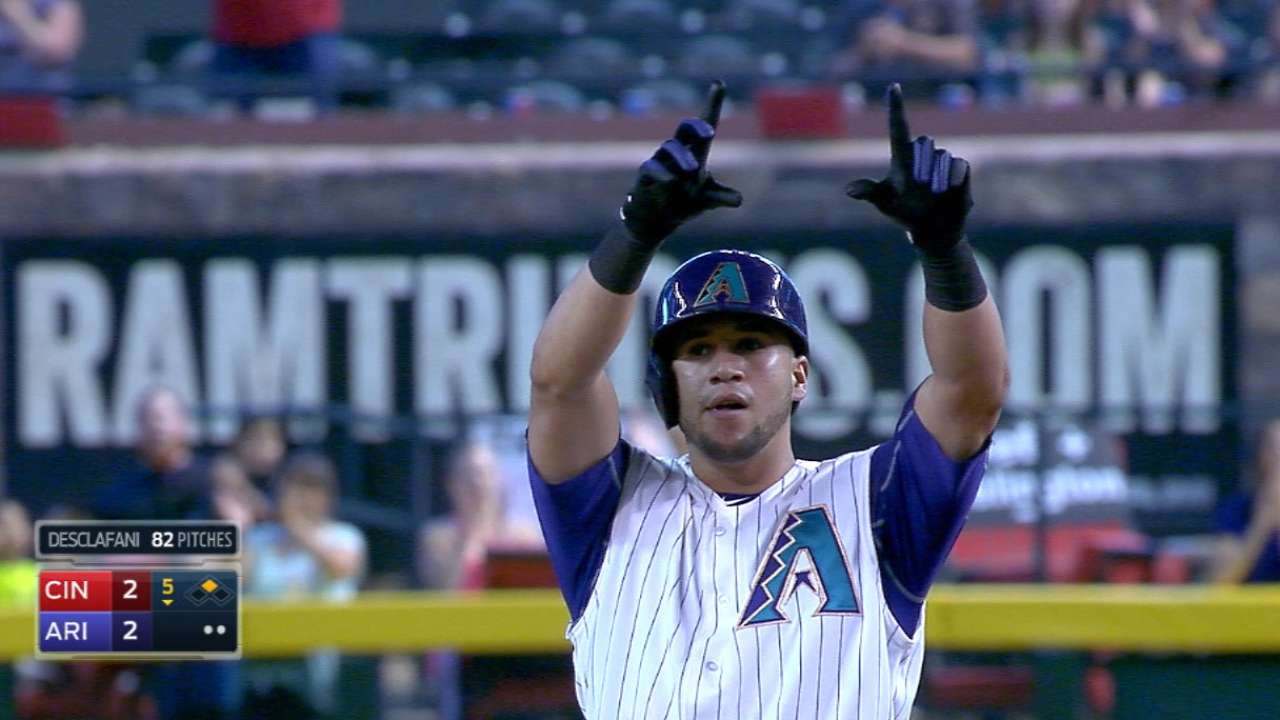 Peralta's 5 hits lead D-backs' offensive surge