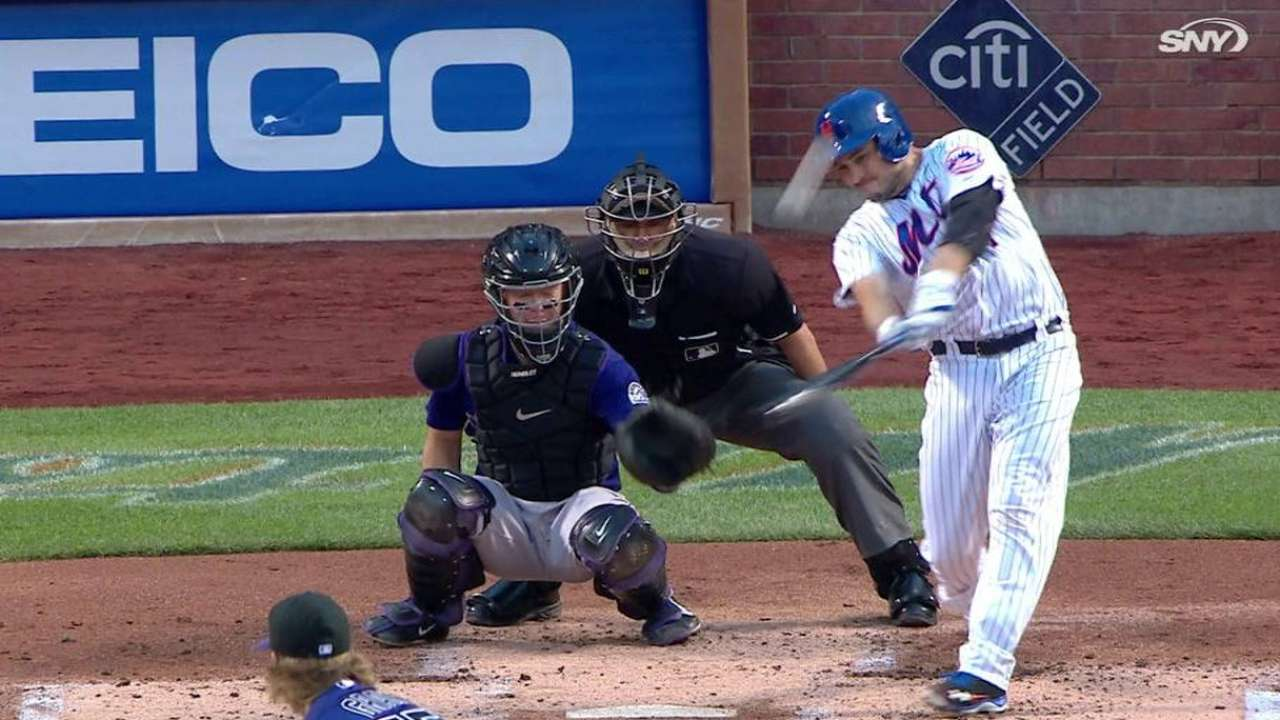 Mets use big 7th inning to rally past Rockies
