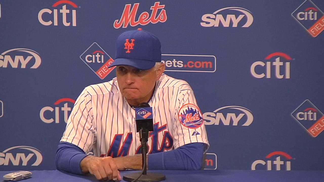 Collins on Niese, comeback win