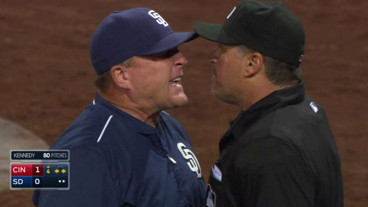 Murphy's ejection