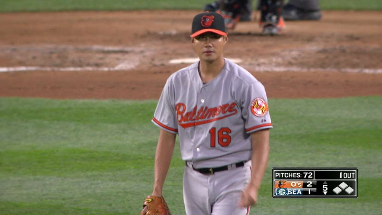 Chen's gem a good sign for playoff-hungry O's