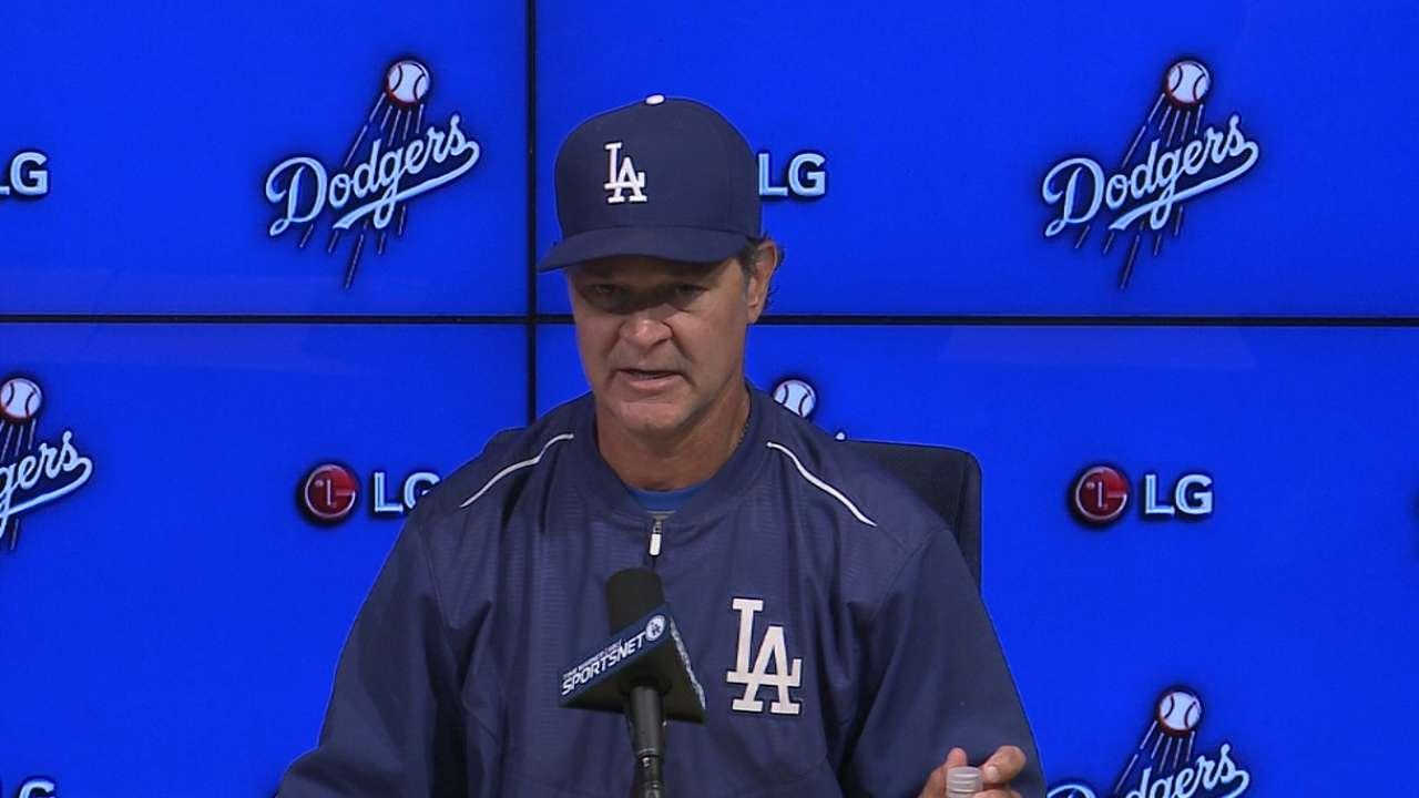 Pitching slump center of LA's losing streak