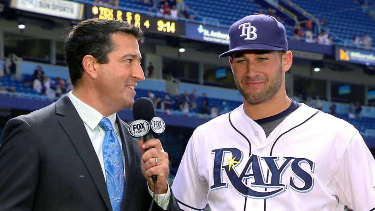 Kiermaier on big homer