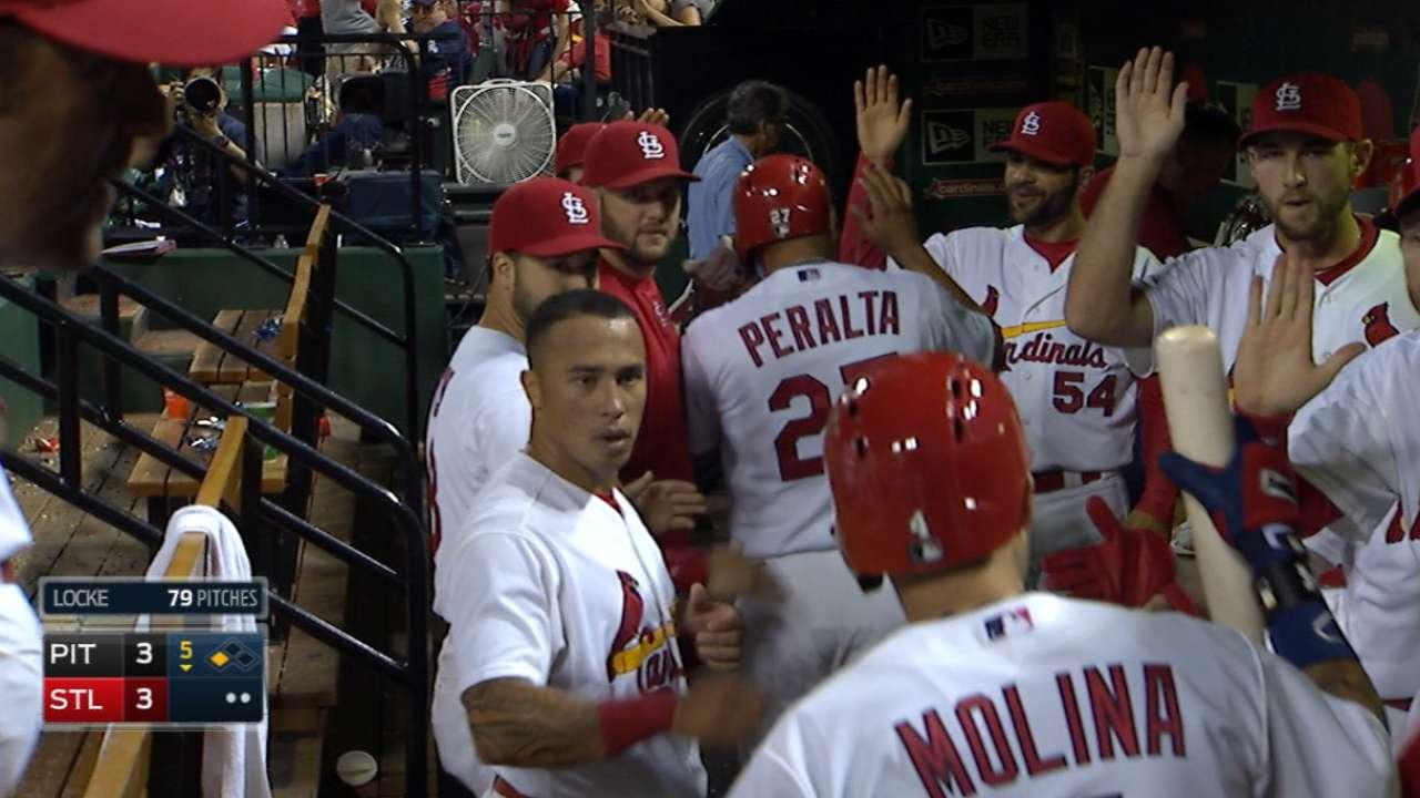 Molina's sacrifice fly