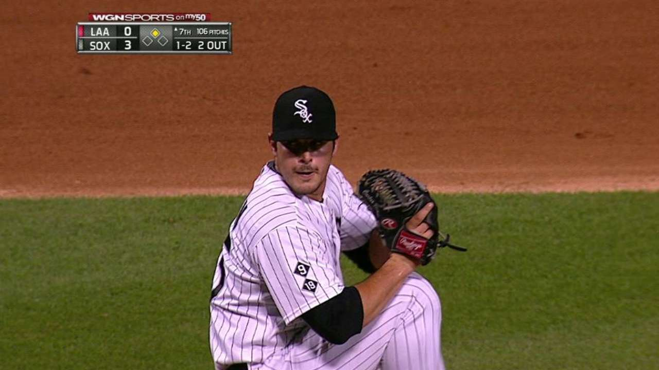 Rodon's career-high 11th K