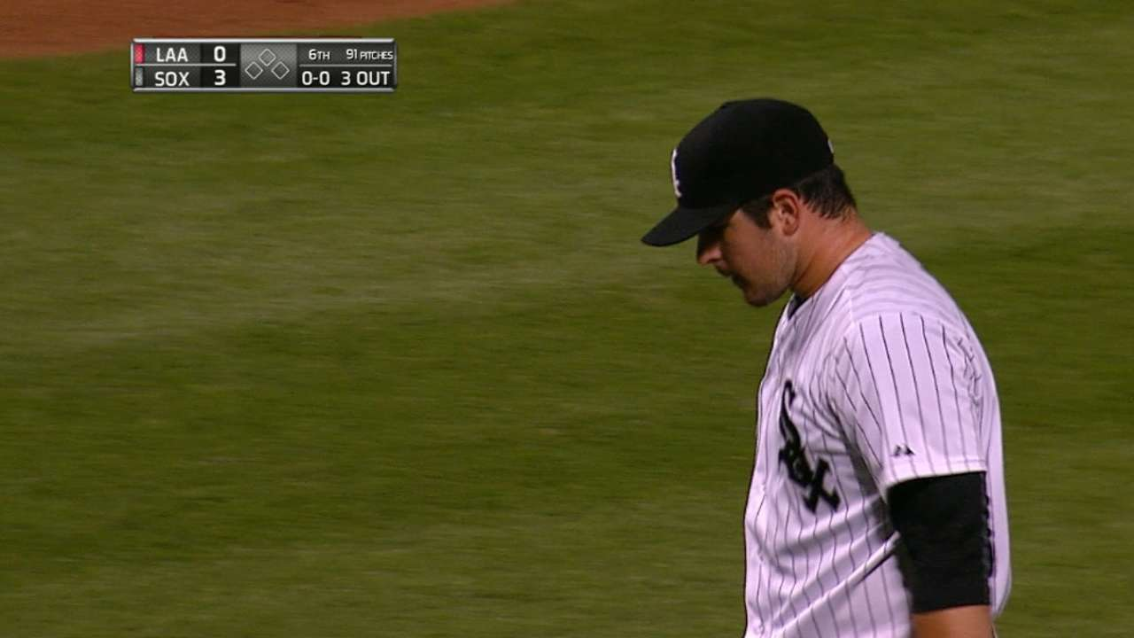 First-inning jam a sweet escape for Rodon