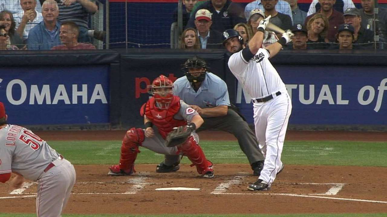 Hedges' RBI single