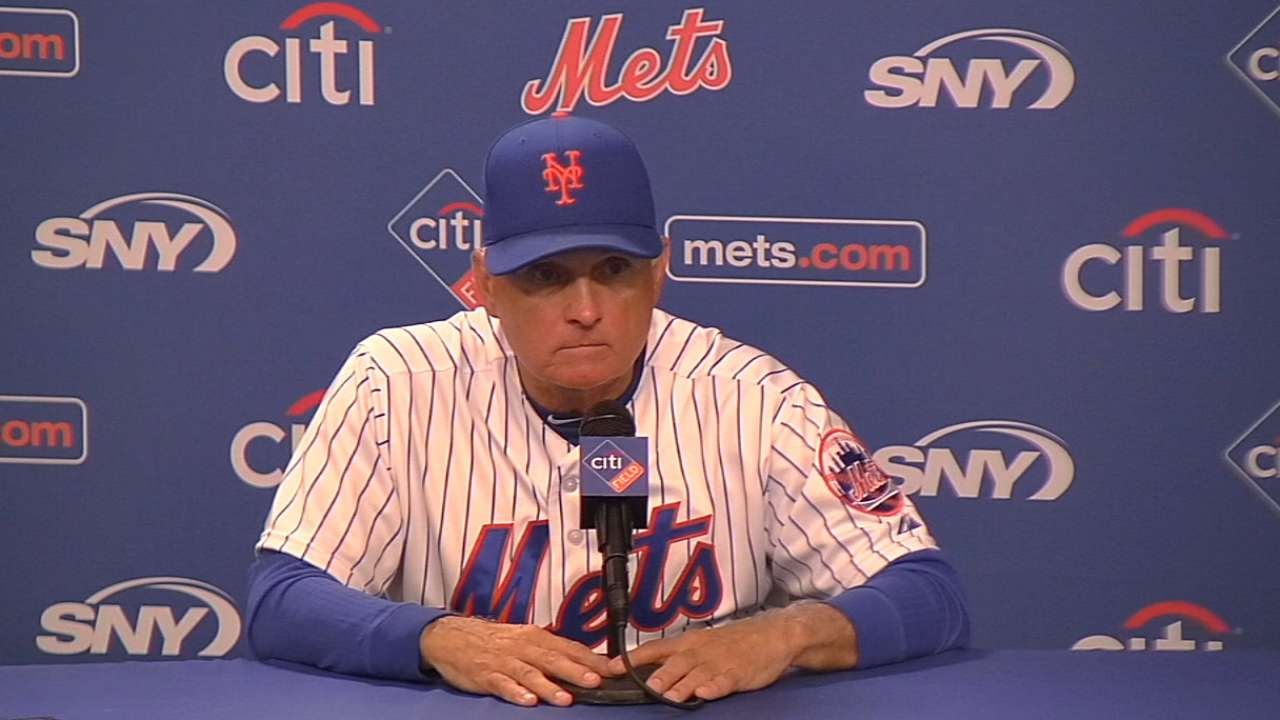 Collins on Mets' 4-0 win