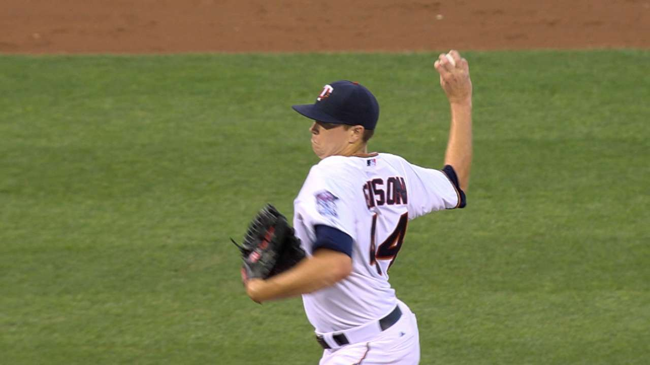 Gibson gives lift by delivering 6 quality innings