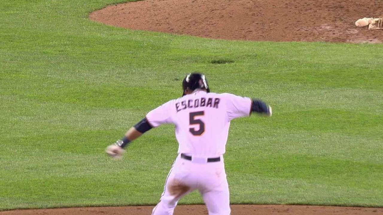 Escobar's walk-off double