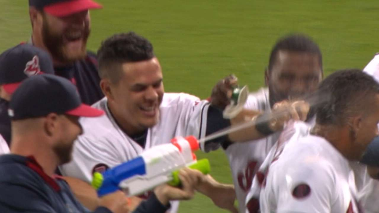 Brantley's walk-off in 16th