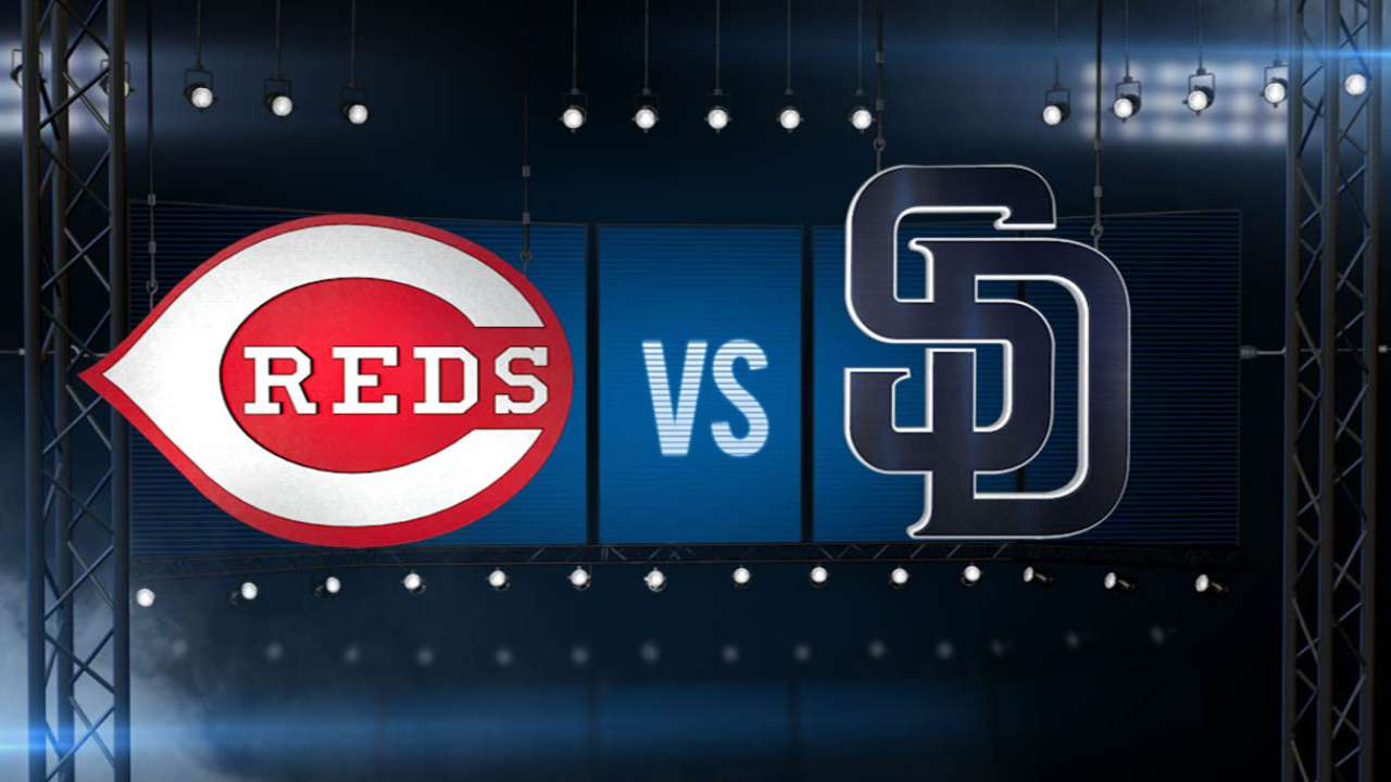 ICYMI: Padres power past Reds on Rea's day