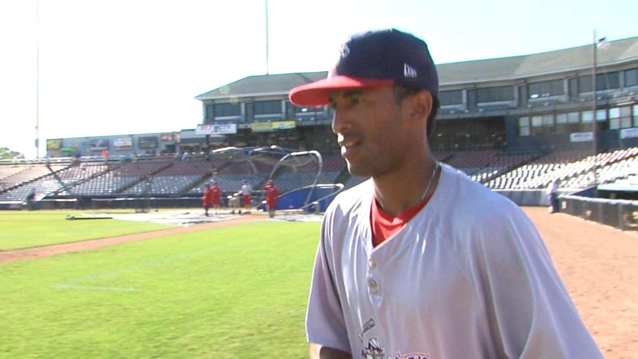 Rivera Jr. on playing ball young