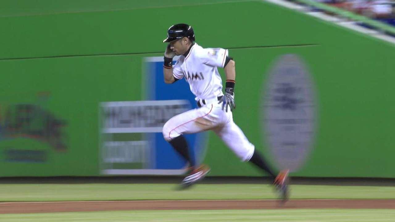 Ichiro's two-run triple