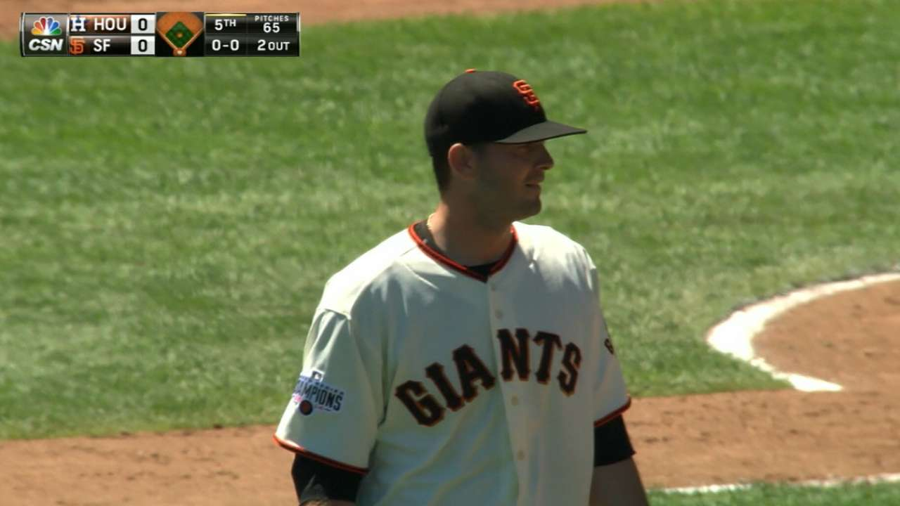 Cain goes on DL; Heston returns to rotation