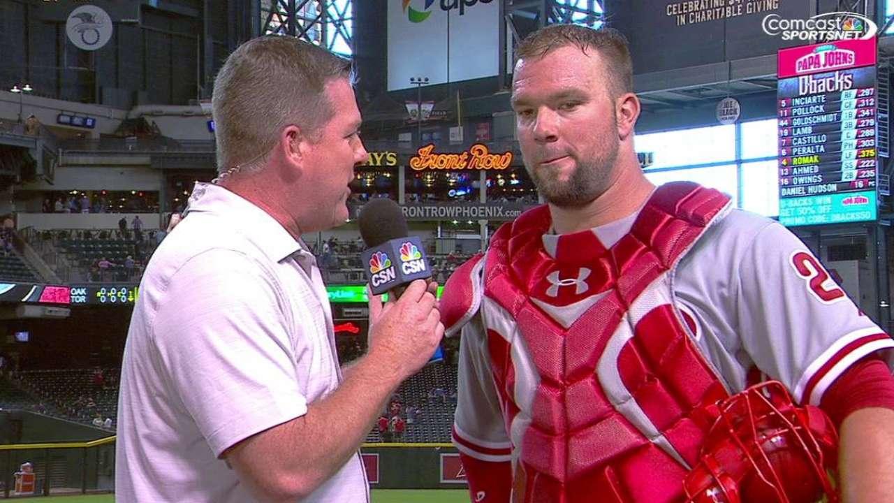 Rupp talks Phillies' win