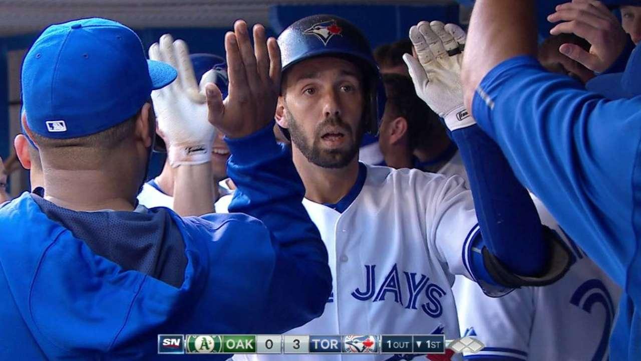 Colabello's three-run homer