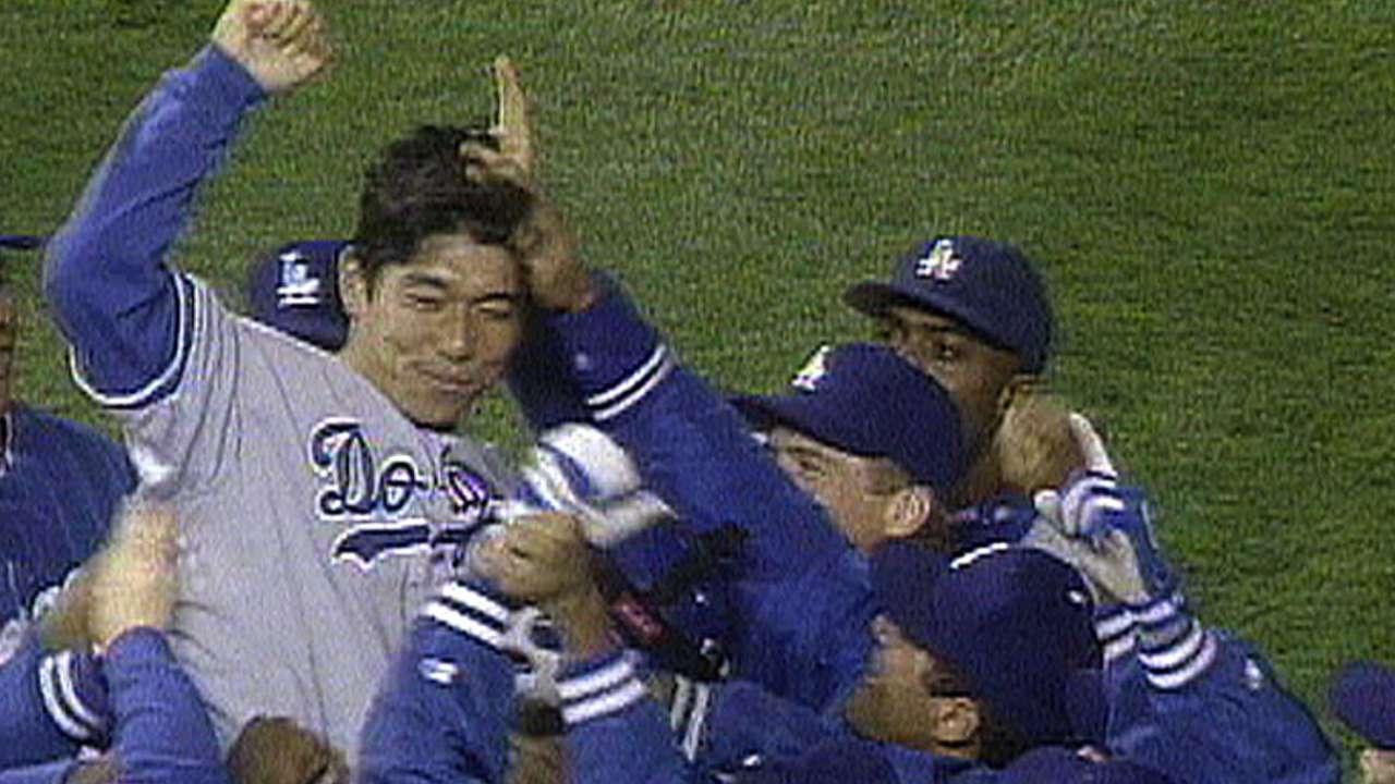 Nomo's no-hitter